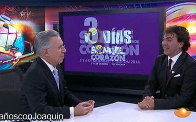 #16añosconJoaquin Entrevista a Cristian Castro