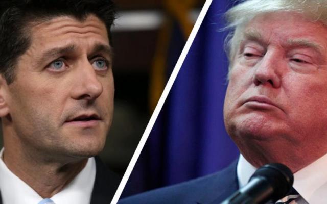 Paul Ryan reprueba perdón de Trump a Joe Arpaio