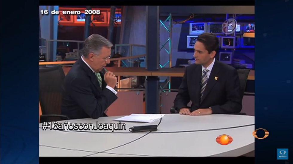 #16añosconJoaquin Entrevista a Juan Camilo Mouriño