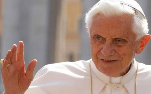 Benedicto XVI sufre ceguera parcial desde hace 22 años - Foto de cruxnow.com
