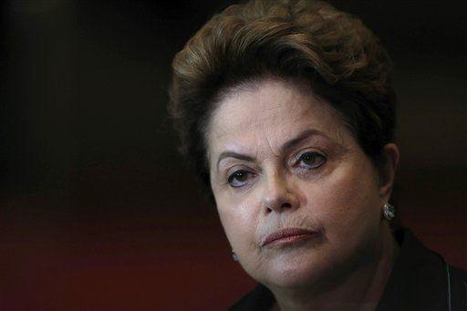 Dilma Rousseff se declara inocente ante el Senado - Foto de AP