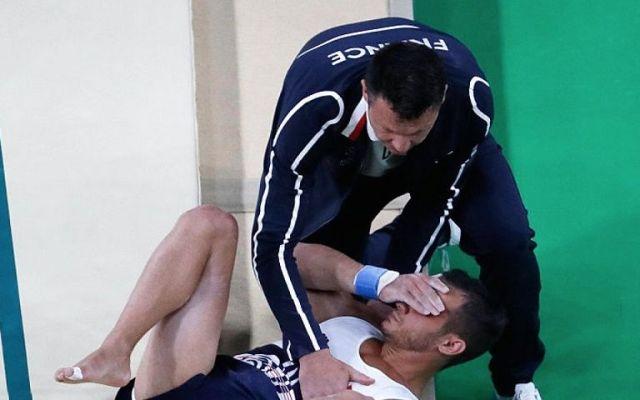 Video: gimnasta sufre escalofriante fractura en Río 2016 - Foto de AP.