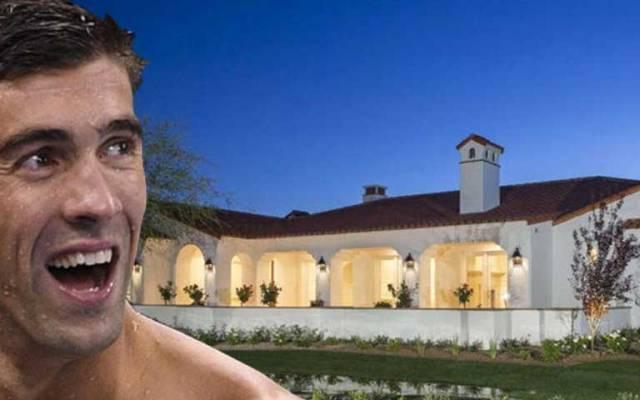 La mansión de 2.5 mdd de Michael Phelps - Foto de TMZ