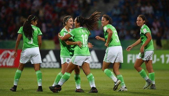 Tri femenil sub 17 debuta en Mundial goleando a Nueva Zelanda