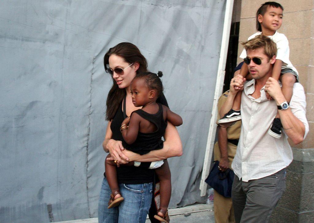 Angelina Jolie y Brad Pitt llegan a acuerdo para custodia de sus hijos - Foto de AP.
