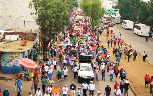 CNTE amenaza con intensificar protestas si no hay diálogo con  Gobernación
