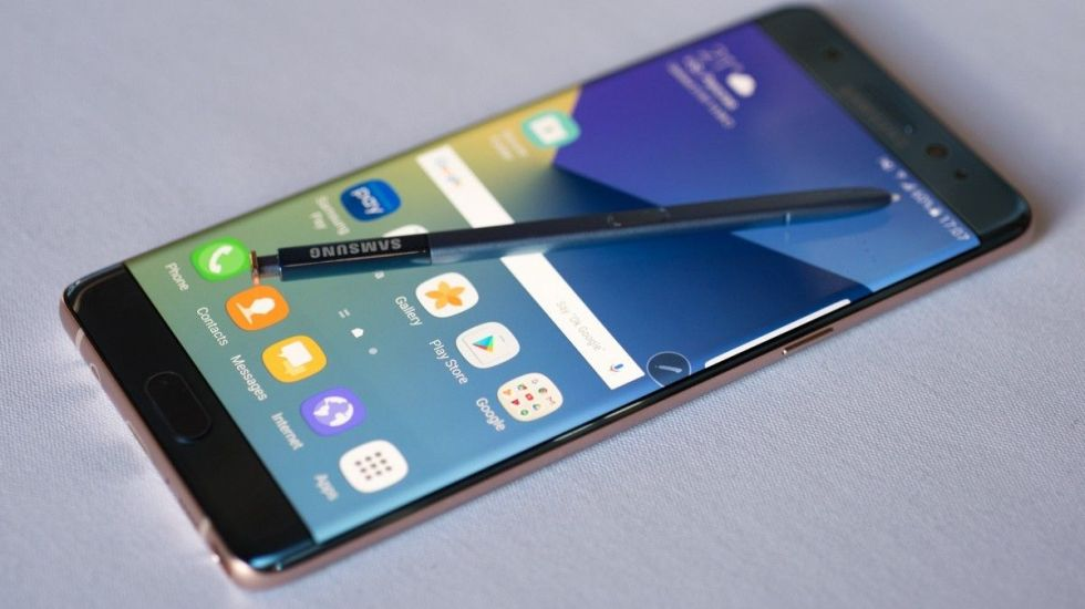Surgen quejas por baterías de repuesto del Galaxy Note 7