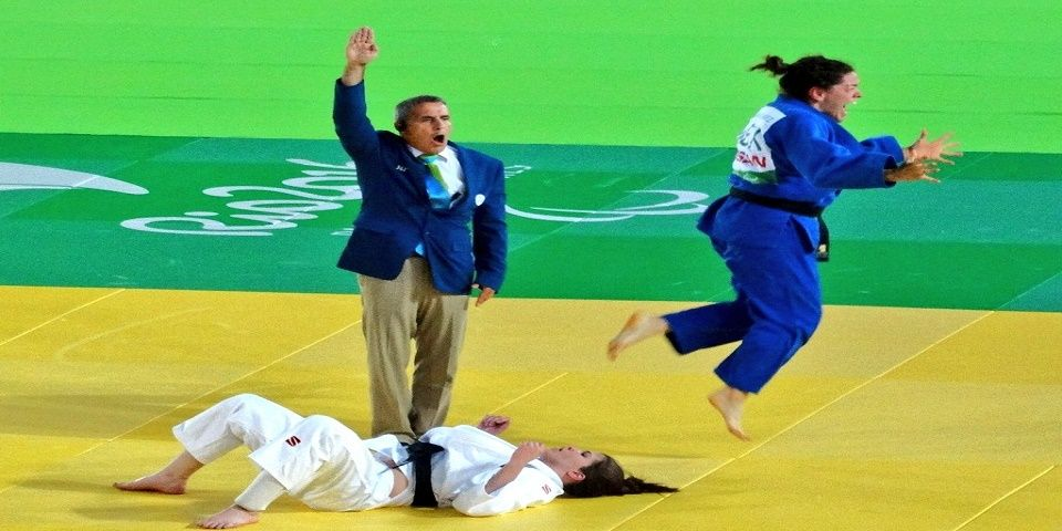 Lenia Ruvalcaba gana oro en Judo - Foto de @CONADE