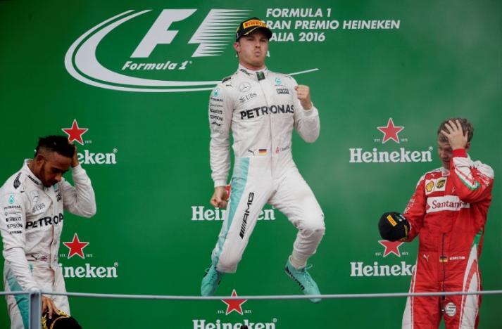 Rosberg gana el Gran Premio de Italia
