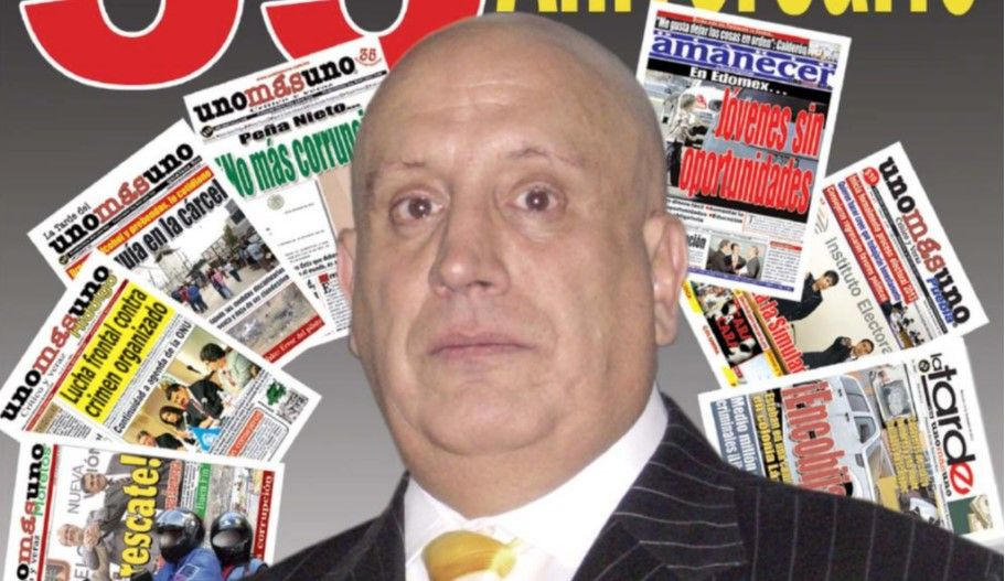 Niegan amparo a Naim Libien Kaui - Naim Libien, presidente del diario Unomásuno. Foto de Internet
