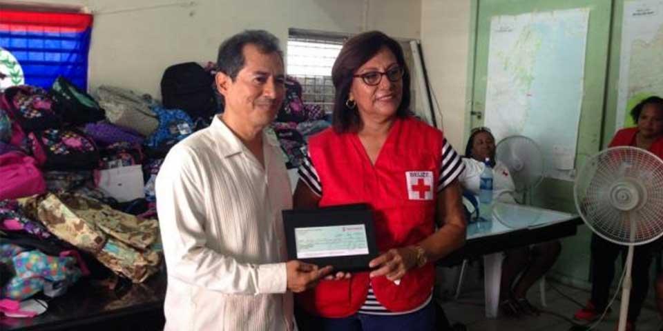 México entrega donativo a Belice por huracán Earl - Foto de SRE