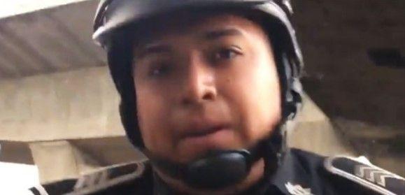 Video: policía golpea a conductor. Eruviel lamenta lo ocurrido - Foto de Internet