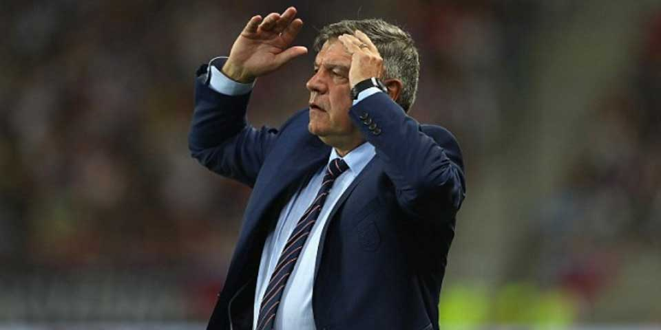 Sam Allardyce deja de ser el técnico de Inglaterra - Foto de Getty