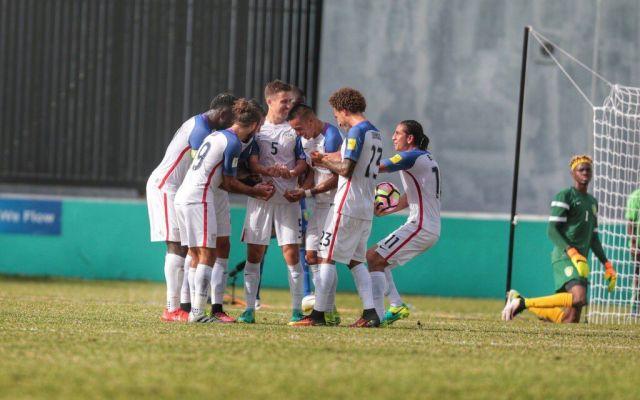 EE.UU. golea a San Vicente y se acerca al Hexagonal final - Foto de @ussoccer