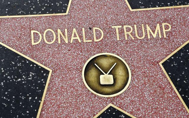Detienen al sospechoso de vandalizar la estrella de Trump en Hollywood - Foto de internet