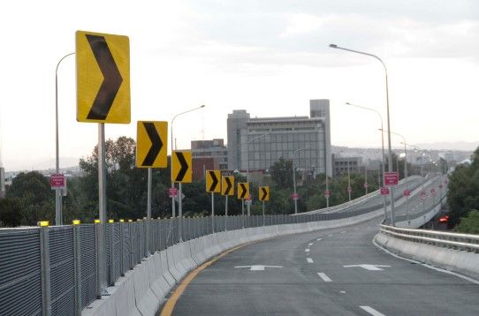 Un asalto y un choque en la inauguración de la Autopista Urbana Sur - Autopista Urbana Sur. Foto de internet.