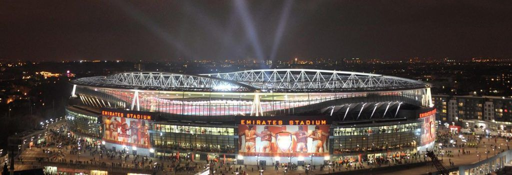 Emirates Stadium. Foto de Internet