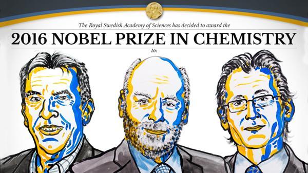 Un francés, un británico y un holandés ganan el Nobel de Química