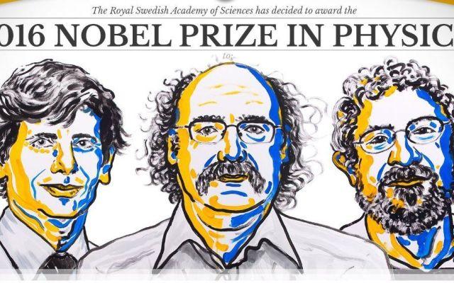 Tres científicos británicos ganan el Premio Nobel de Física
