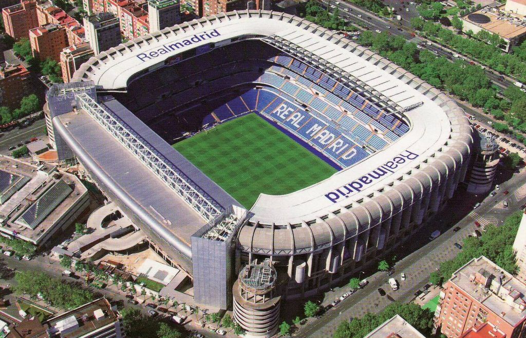 Santiago Bernabéu. Foto de Internet
