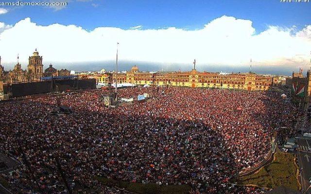 Asistentes al concierto de Roger Waters dejan 89 toneladas de basura - Foto de Webcams de México