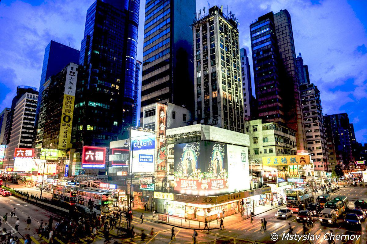 Causeway Bay en Hong Kong. Foto de Hong Kong Hotels