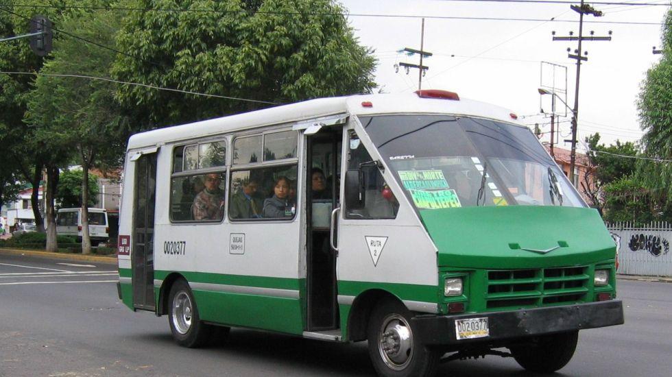 Las rutas de transporte más peligrosas de la Ciudad de México - Foto de archivo