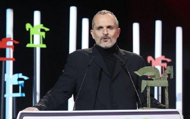 Reconocen a Miguel Bosé con el Premio Ondas a la Trayectoria Musical