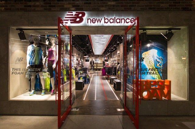 Tienda de New Balance. Foto de Devimco