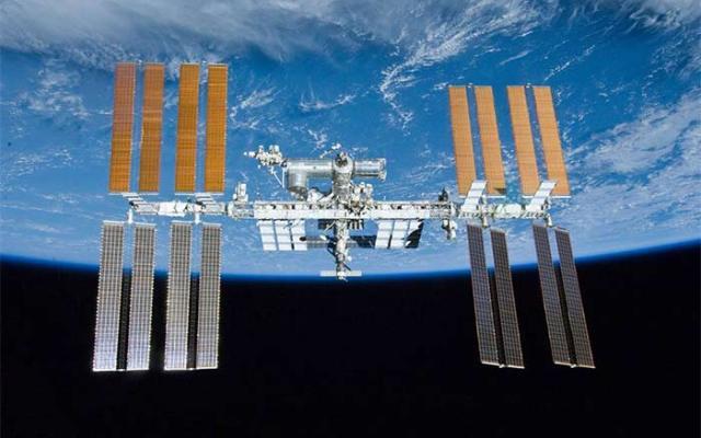 Astronautas festejan Día de Acción de Gracias en el espacio - Fotos de internet