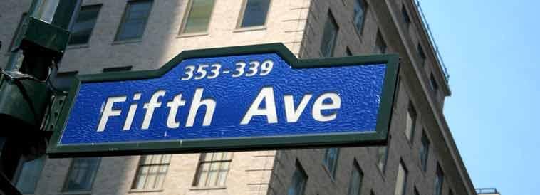 La Quinta Avenida. Foto de New York City