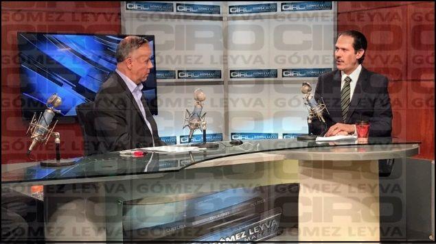 Padrés confirmó entrevista desde el martes: Gómez Leyva - Foto de Radio Fórmula