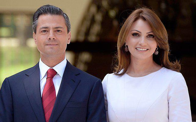 Peña Nieto agradece a Angélica Rivera por sus seis años de casados