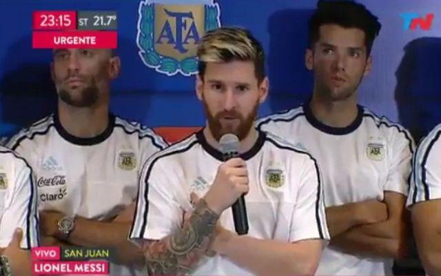 No hablaremos más con la prensa: Messi - Foto de TN
