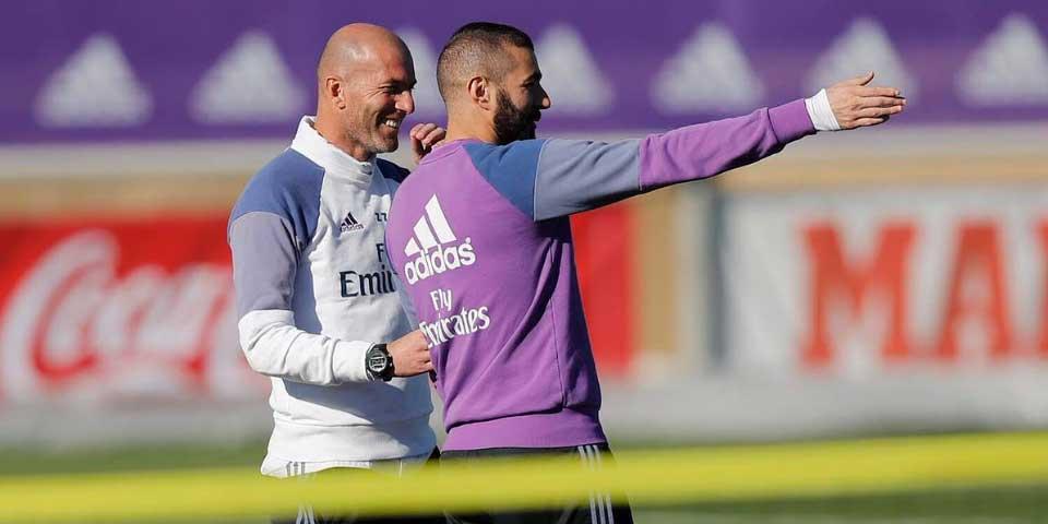Benzema podría regresar ante el Atlético - Foto de @Benzema