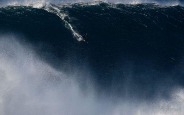 Ola de 19 metros rompe récord