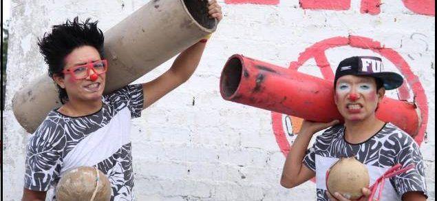 Payasos se salvan de explosión en Tultepec