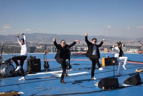 Café Tacvba ofrece concierto en helipuerto