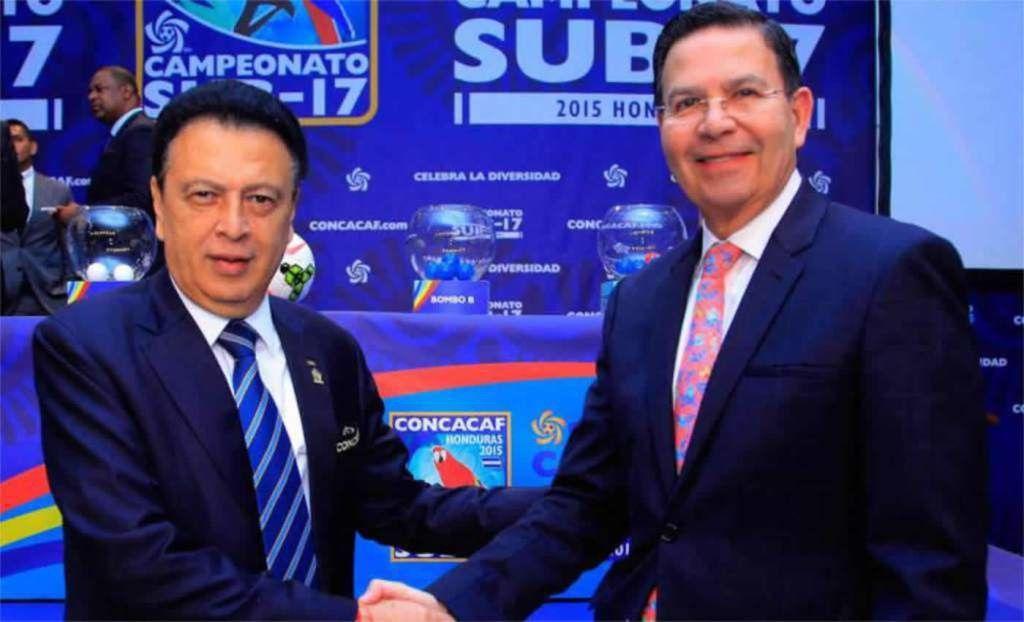 Alfredo Hawit y Rafael Callejas. Foto de Internet