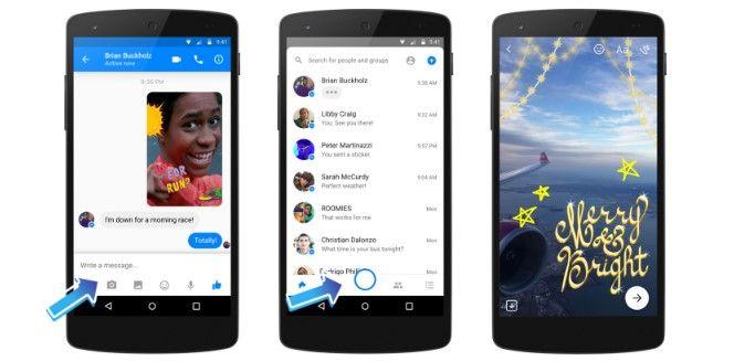 Messenger integra cámara con efectos especiales - Imagen de Engadget