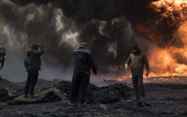 El general de EE.UU. que coordina bombardeos en Mosul