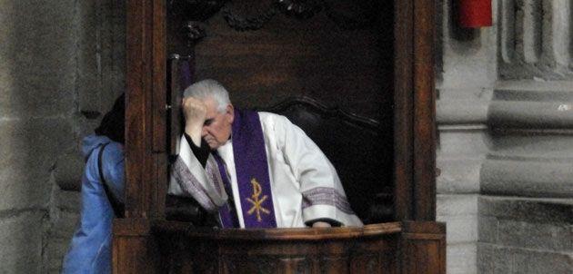 Aplicación busca al cura católico más cercano para la confesión