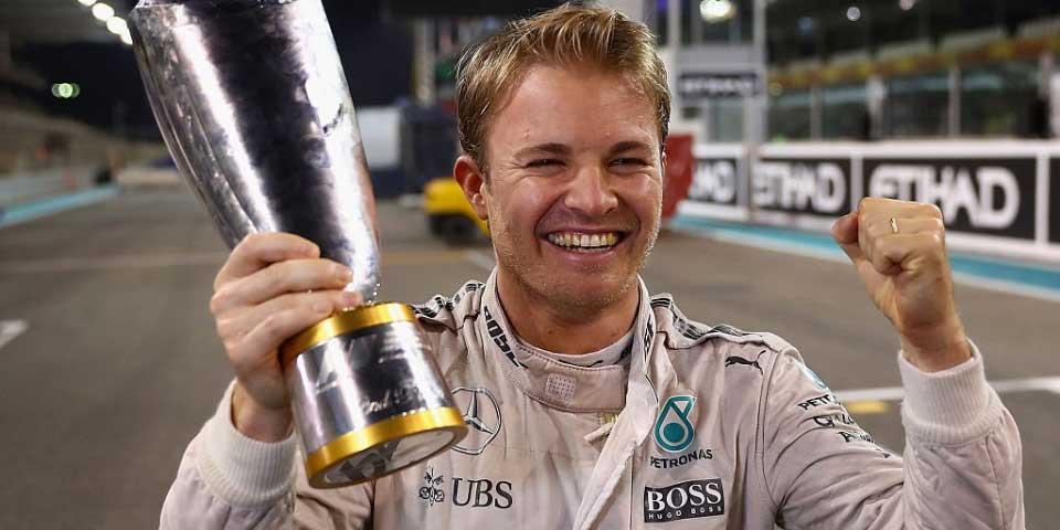 Rosberg se retira siendo el mejor del mundo - Foto de BBC
