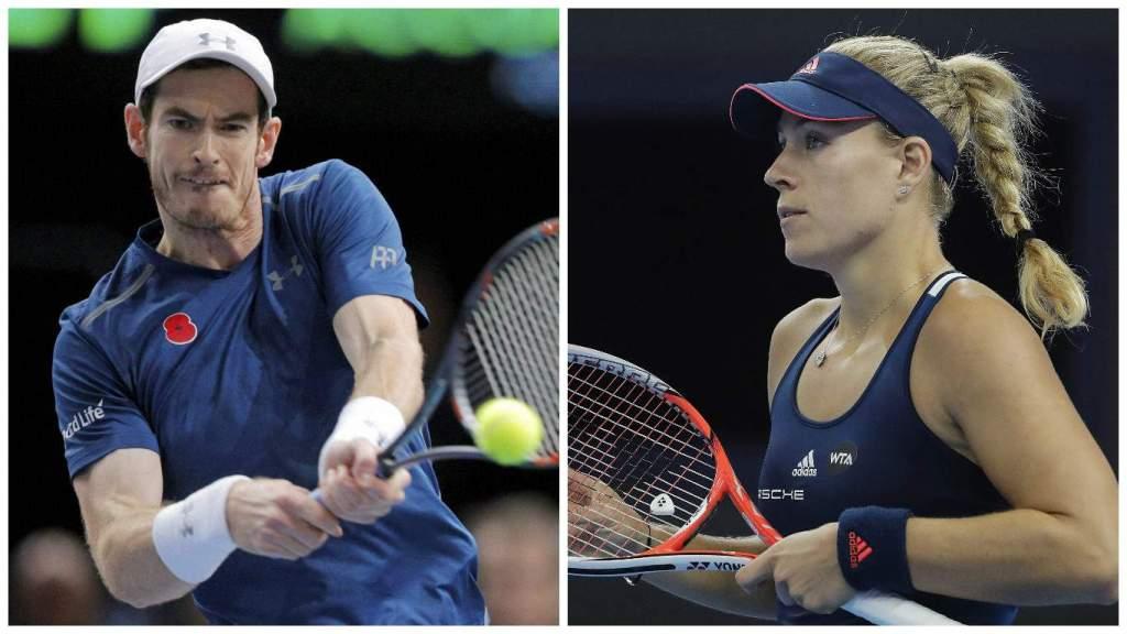 Eliminan a Murray y Kerber del Abierto de Australia