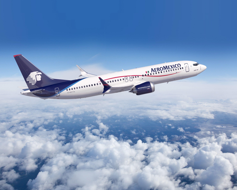 Aeroméxico anuncia medidas en vuelos a EE.UU. por coronavirus