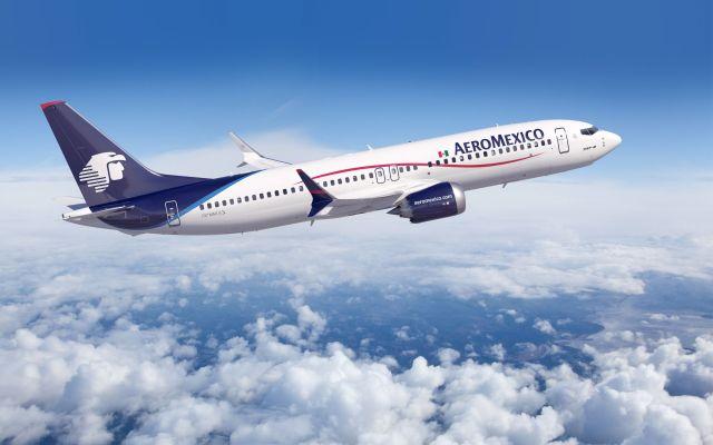 Aeroméxico anuncia medidas en vuelos a EE.UU. por coronavirus - Foto de archivo