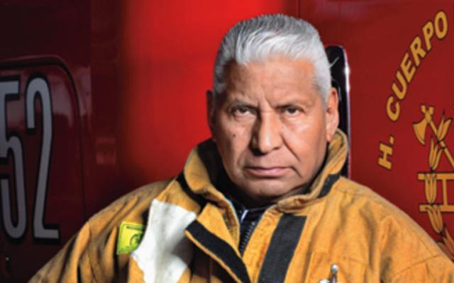 Jefe Vulcano recibe el Premio Nacional de Protección Civil