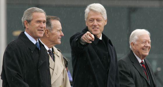 Qué hacen los ex presidentes de Estados Unidos - Foto de Internet