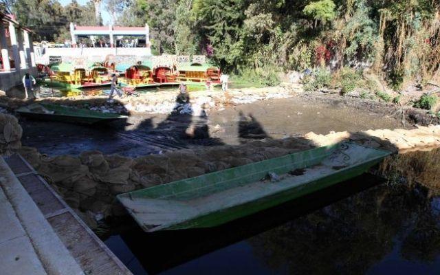 El lunes iniciará reparación de grieta en Xochimilco - Foto de Gustavo Durán/Notimex