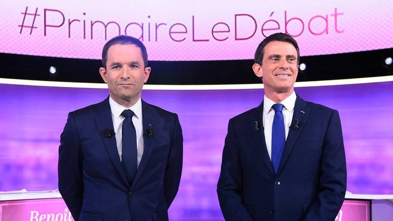 Benoit Hamon adelanta a Manuel Valls en las primarias de la izquierda francesa - Foto de Internet